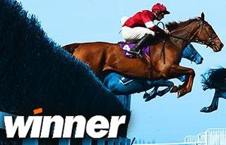 Erhalte €10 Gratiswette zu Pferdewetten von Winner