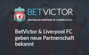 Partnerschaft zwischen BetVictor und Liverpool FC