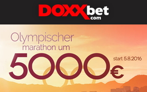 Der Olympische Marathon um 5.000 Euro bei DOXXbet