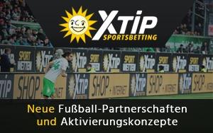 Der Wettanbieter X-TiP geht in die Sponsoring-Offensive