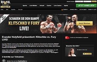 Gewinne ein VIP-Paket für den Fight Klitschko vs. Fury bei Real Deal Bet