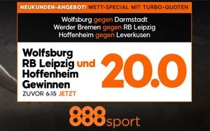 Kombo Wette mit erhöhten Quoten bei 888sport