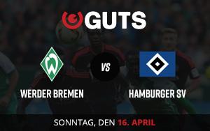 Das Derby Werder Bremen vs. Hamburger SV bei Guts mit Spezialwetten