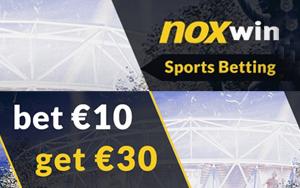 Neukunden können bei Noxwin eine 30€ Freiwette erhalten!