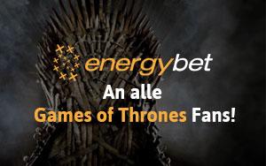 Setzen Sie Ihre Energie bei der EnergyBet Game of Thrones-Aktion ein