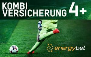 10 Euro mit der Kombi-Versicherung von EnergyBet zurückerhalten