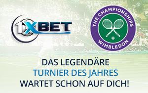Tolle Preise für Tipps auf Wimbledon 2017 bei 1xBet gewinnen