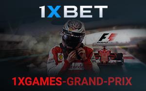 1XGAMES-GRAND-PRIX: Reise zur Formel 1 bei 1xBet gewinnen