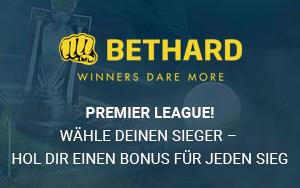 Die Premier League startet: Gewinnen Sie Ihren persönlichen Live Casino Bonus bei Bethard