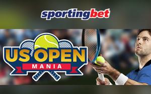 US Open Mania von Sportingbet: Täglich 20 Freiwetten erhalten