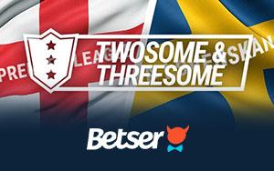 Twosome and Threesome – doppelten oder dreifachen Bonus bei Betser erhalten