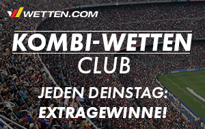 Wöchentliche Überraschungen im Wetten.com Kombi-Wetten Club