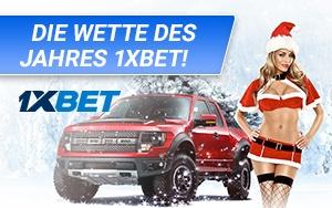 Bei 1xBet gibt es zu Weihnachten ein Luxusauto unter dem Tannenbaum