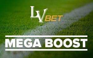 Mega Boost Aktion: Jetzt bei LVbet Kombiwette platzieren und bis zu 250 Euro Bonus gewinnen
