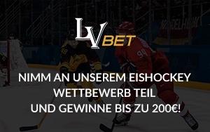 Mit LVbet beim Turnier der Eishockey-Weltmeisterschaft tolle Preise gewinnen