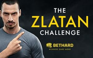 Jetzt in der Zlatan Challenge antreten und tolle Preise bei Bethard gewinnen