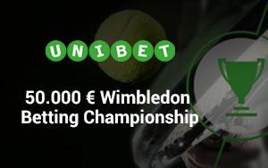 Unibet schreibt zum Wimbledon Open Gewinne von bis zu 10.000€ aus