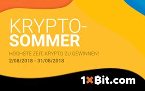 Im August diverse Kryptowährungen bei 1xBit gewinnen – Bitcoin, Ethereum und Zcash