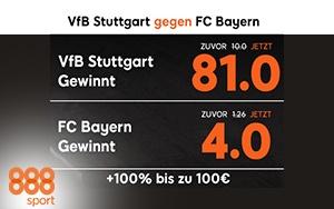 Turbo-Quoten fürs Bundesliga-Topspiel bei 888sport sichern