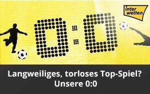 Interwetten bietet Versicherung für Top-Spiele des Monats