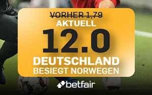 Betfair Neukunden-Spezial: Extra spannendes WM-Halbfinale dank Quotenboost