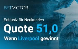 Turboquote für Liverpool vs Bayern München bei BetVictor