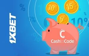Erhalten Sie bis zu 15% Cashback Ihrer Einzahlung bei 1xBet zurück