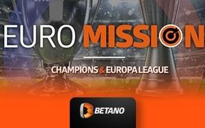 Bei Betano werden Wetten auf Champions und Europa League mit einer Rückerstattung belohnt