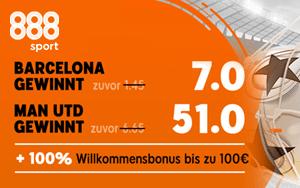 Quote 7 für Barcelona bei 888sport