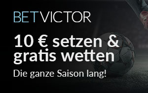 Neue Saison: BetVictor mit verlockendem Angebot