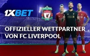 Liverpool geht neue Partnerschaft mit 1xBet ein