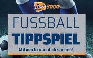 Bet3000 präsentiert ein packendes Tippspiel zur laufenden Fußball-Saison