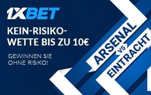 1xBet bietet die Chance ohne Risiko auf die UEFA Europa League zu tippen