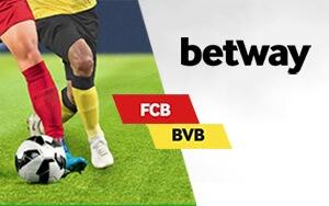 Wer schafft das 1. Tor im Match Bayern gegen Dortmund? Denn das 1. Tor gewinnt – Nur bei Betway!
