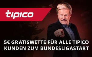 Tolle Promos zum Bundesliga Re-Start bei Tipico